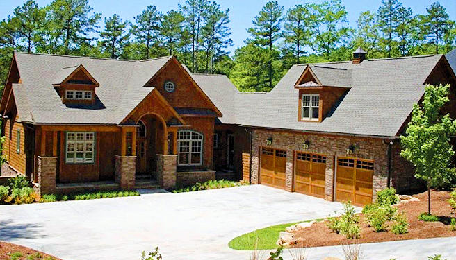lake keowee custom home builders upstate sc custom builders